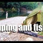 鮎釣りとキャンプ