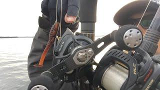 琵琶湖バス釣りライブ12月8日