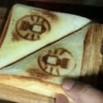 【キャンプ料理】納豆ホットサンドを作りました‥‥