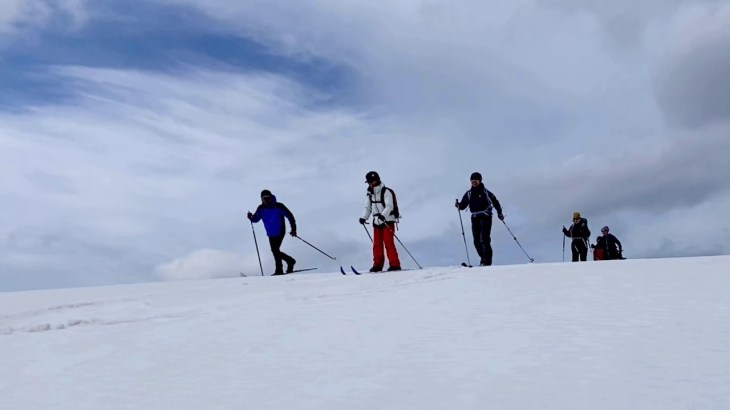 2021 厳冬期?兵庫県上山高原クロカンスキーツーリング