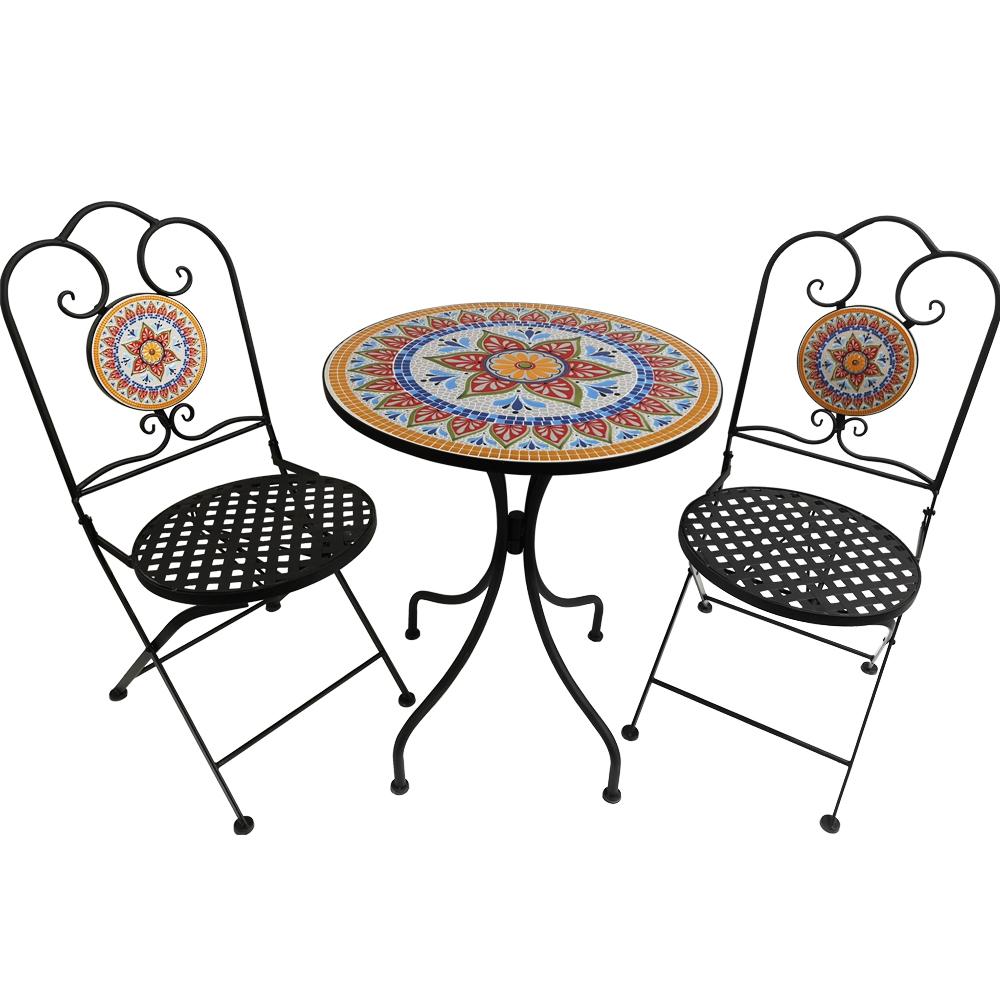 mosaic bistro patio sets outdoor