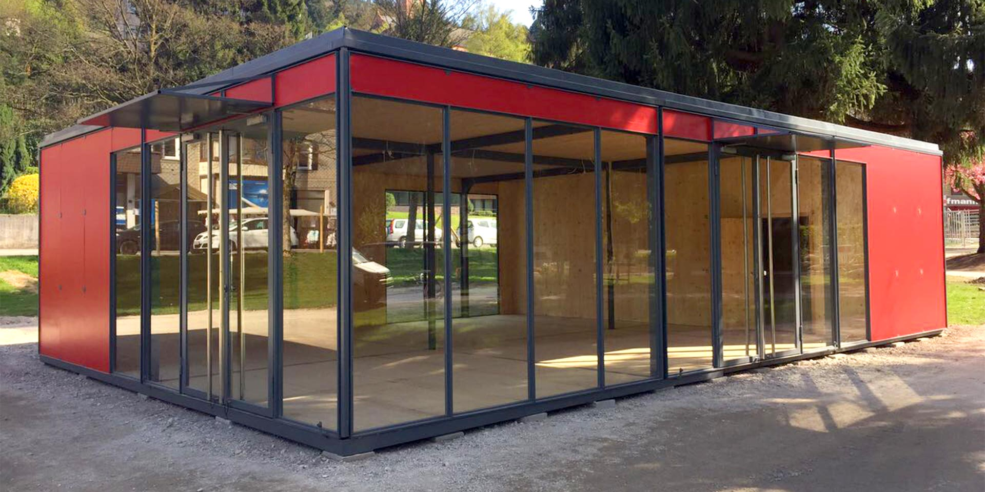 Mobiler Pavillon Outdoor Pavillon - Outdoor Pavillon