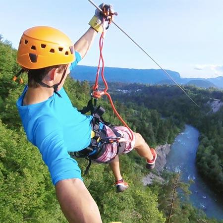 Canyoning Zipline Bled Lake Slovenia Adventure