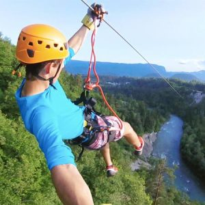 Canyoning Zipline Bled Lake Slovenia Adventure