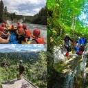 Canyoning-zipline-rafting OUTdoor Slovenia