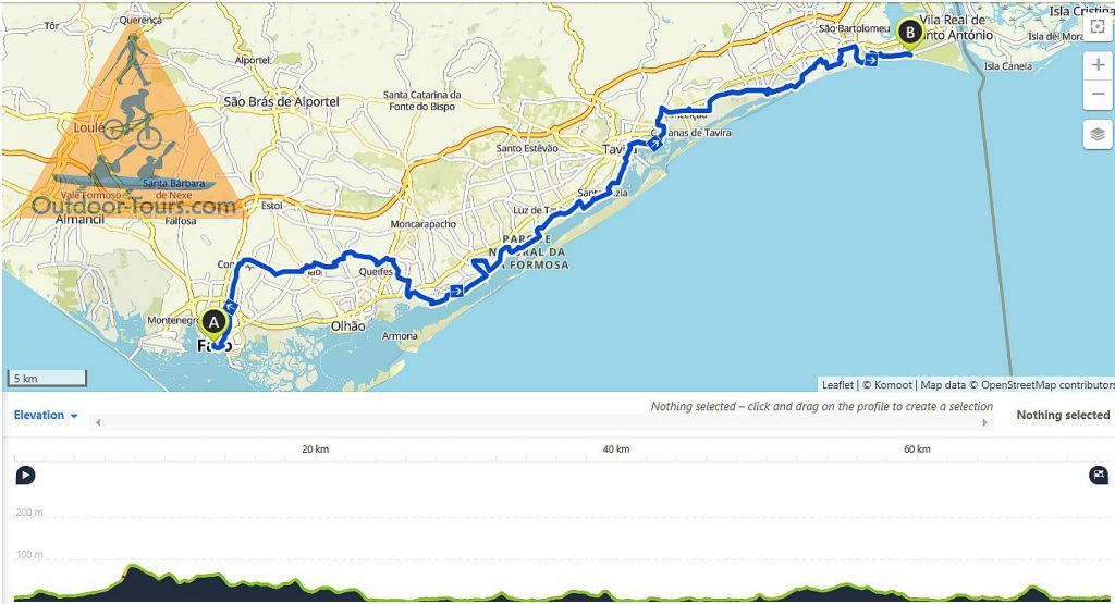 Guided TransAlgarve by MTB to Monte Gordo day 2