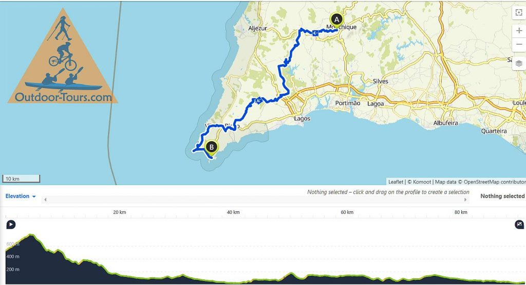 Guided TransAlgarve by MTB to Sagres  day 7