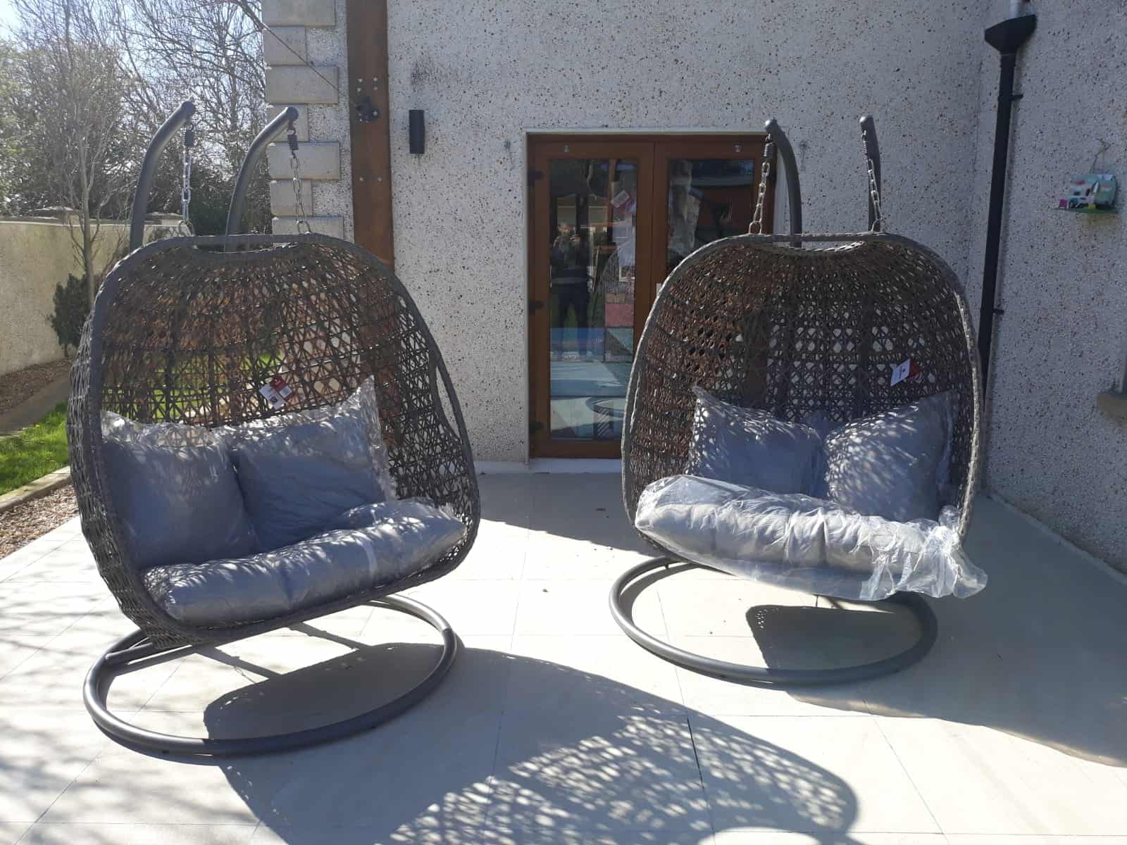 Hanging Chair Outdoor Tuscany Double Hanging Chair
