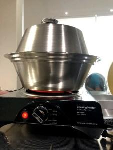 Spinning Smoker Sus304 SMOKY FLAVOR オーブン燻製機