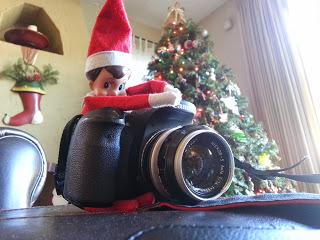 Elf on the Shelf with Camera
