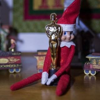 Elf on the shelf wins an oscar