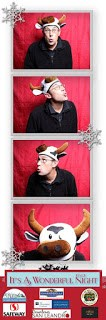 Photo Strip from photobooth in Downtown San Leandro