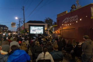 FunFlicks screening in Temescal, Oakland