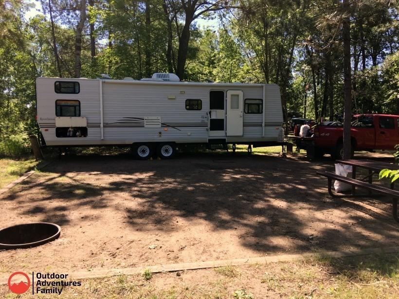 Gull Lake Campground Site