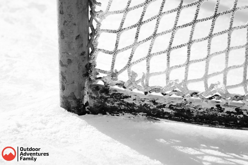 Outdoor Hockey Net