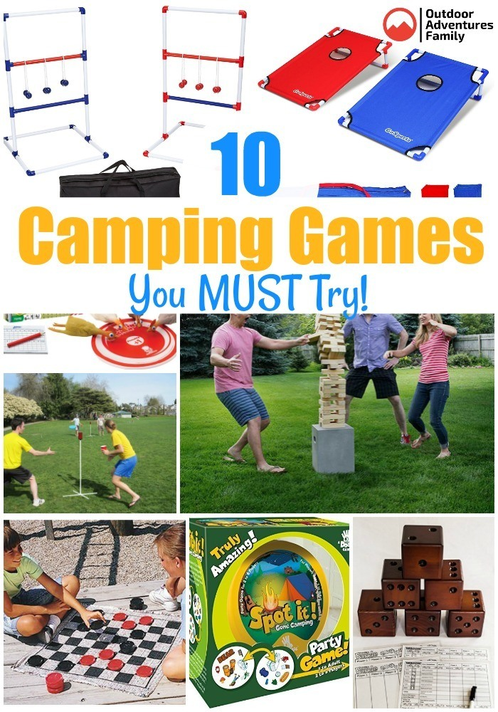 10 fun camping games