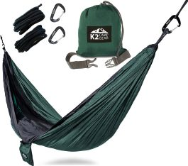 double camping hammock by k2 camp gear