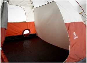 COLEMAN RED CANYON 8 PERSON TENT devider for privacy