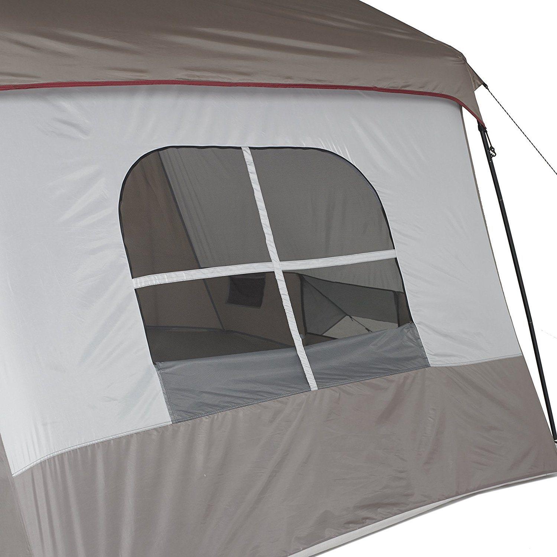 Wenzel 8 Person Klondike family tent window