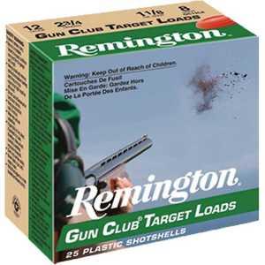 Remington Gun Club Target Load 12 Gauge 8 Shotshells