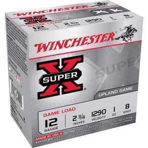 Winchester Super-X Lead Shot Dove & Game Load 12 Gauge 8