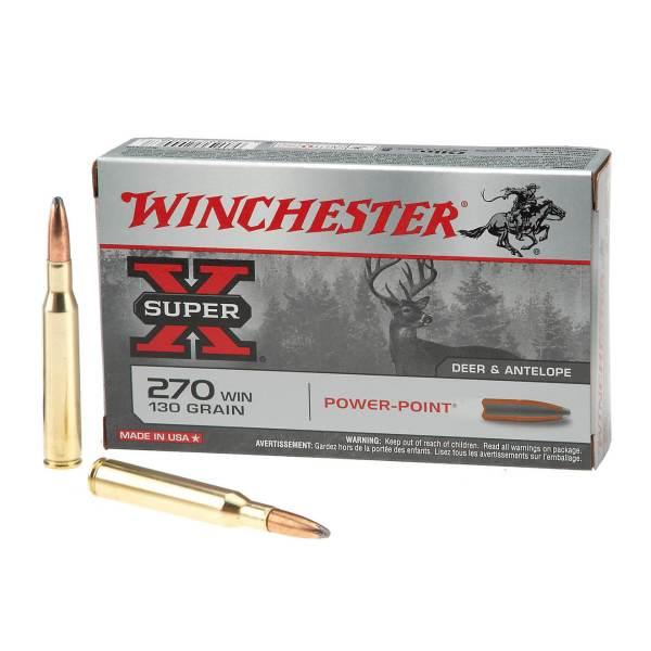 Winchester Super-X Power-Point .270 Winchester   130-Grain   Rifle Ammunition