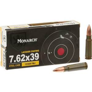 Best 7.62×39mm FMJ 122 GR 500 Rounds