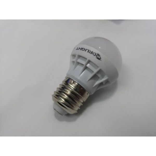Dr Light LED 3 Watt Screw In Globe 220 Volt