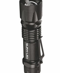 Supa-LED Caracal 5w LED Tactical Flashlight with Clip