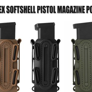 9mm Pistol Mag Pouch Softshell Magazine Pouch/Holster