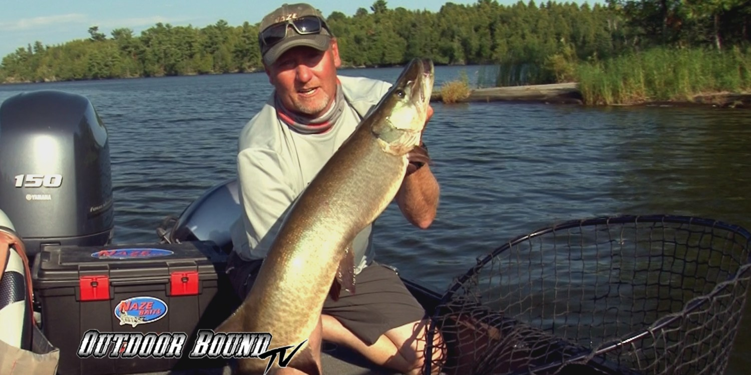 Outdoor Bound TV Musky Fishing Northwest Angle