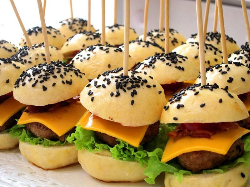 Finger Food Ideas For Wedding Reception
