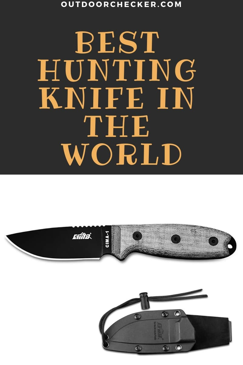 Best Hunting Knife In The World