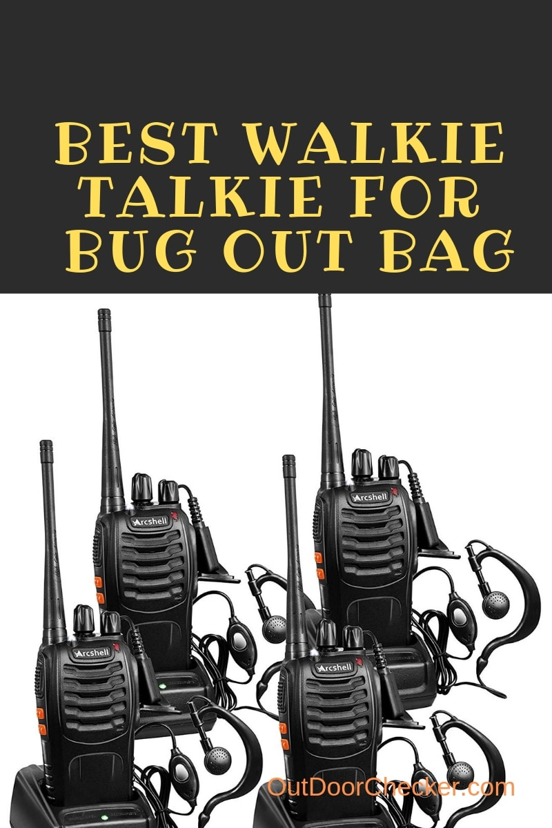 Best Walkie Talkie For Bug Out Bag | Outdoor Guide