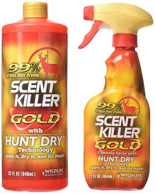 Wildlife Research Scent Killer Gold Spray Combo Pack