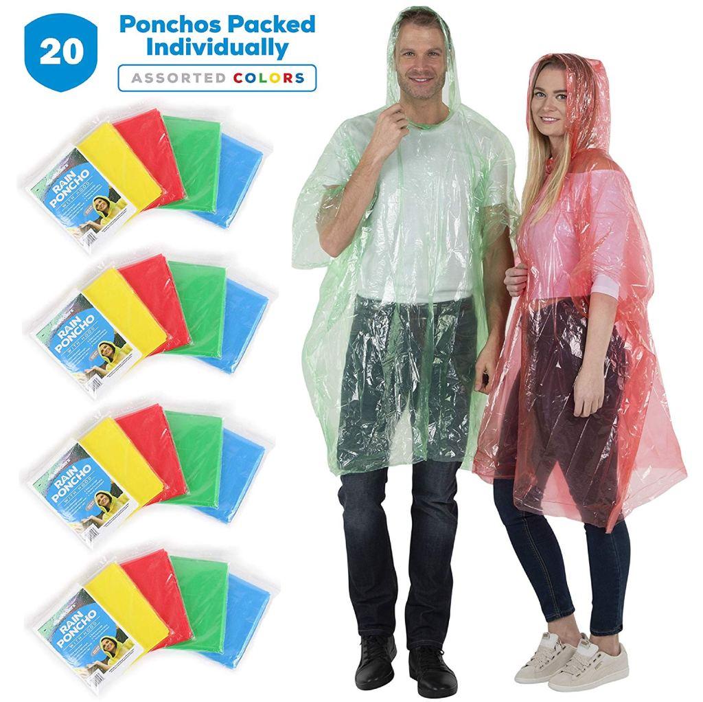 Disposable Rain Poncho
