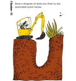dig a finger deep hole [ 1748 x 2480 Pixel ]