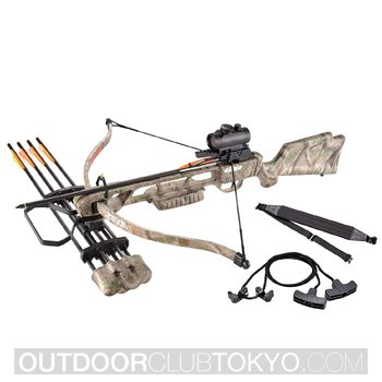 XGear 160lbs 210fps Crossbow Archery Bow Hunting Equipment with Scope Quiver and Arrows