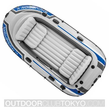Intex Excursion 4 4-Person Inflatable Boat