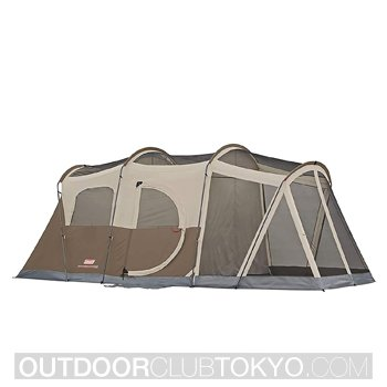 Coleman WeatherMaster Screened 6 person Camping Tent