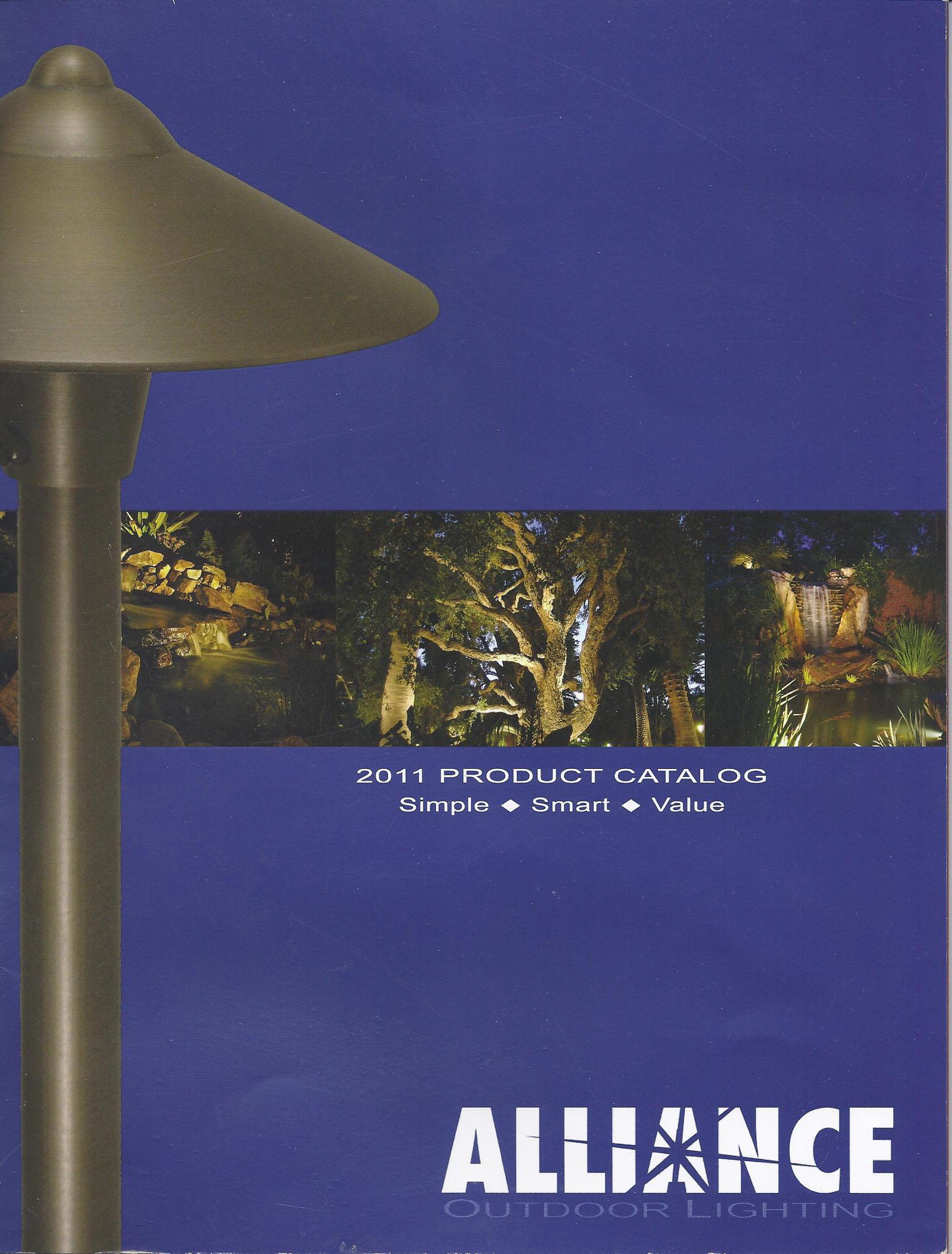 outdoor contracting landscape lighting