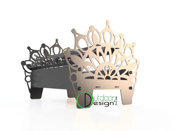 Mamdala design fire pit new zealand garden art New Zealand Made