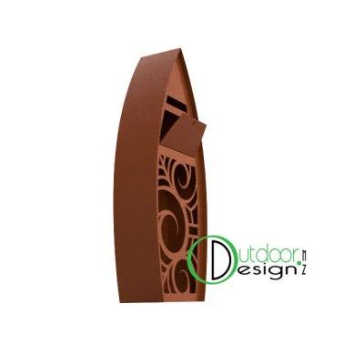 metal mail box, new zealand steel coastal tauranga, housing design,