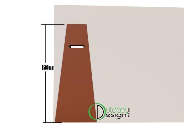 metal letterbox, new zealand Tauranga napier hastings nz for sale landscape ideas