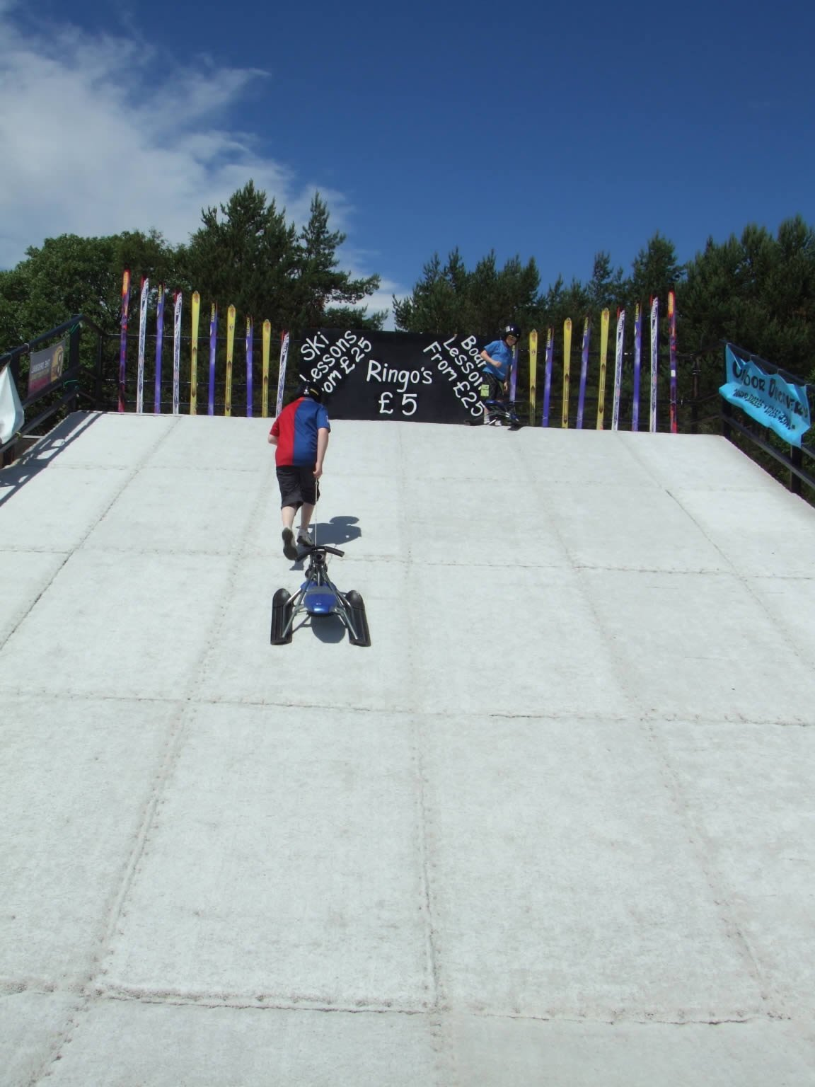 Outdoor Discovery Aviemore  Dry Ski Slopes in the Caingorms