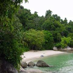 Beautiful Hornbill Beach, Thailand
