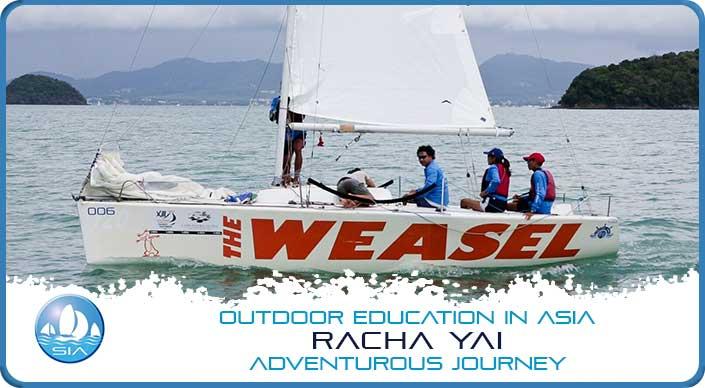 Sailing at Racha Yai Adventurous Journey