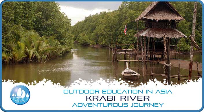 Beautiful scenery on Krabi River Adventurous Journey
