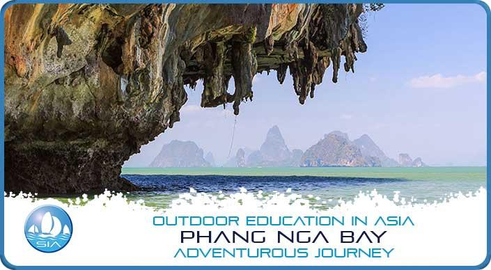 Limestone features of Phang Nga Bay Adventurous Journey
