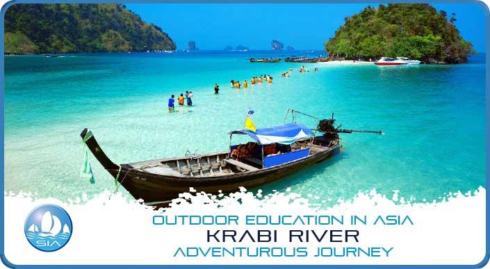 Longtail boats on Krabi River Adventurous Journey